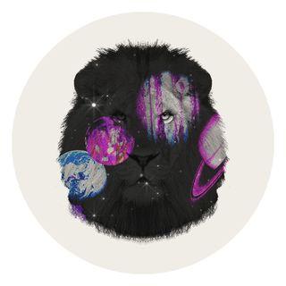 purple, violet, illustration, fur, circle, black hair, magenta, graphic design,