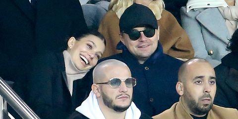 Camila Morrone and Leo DiCaprio