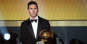 Leo Messi Balón de Oro 2016