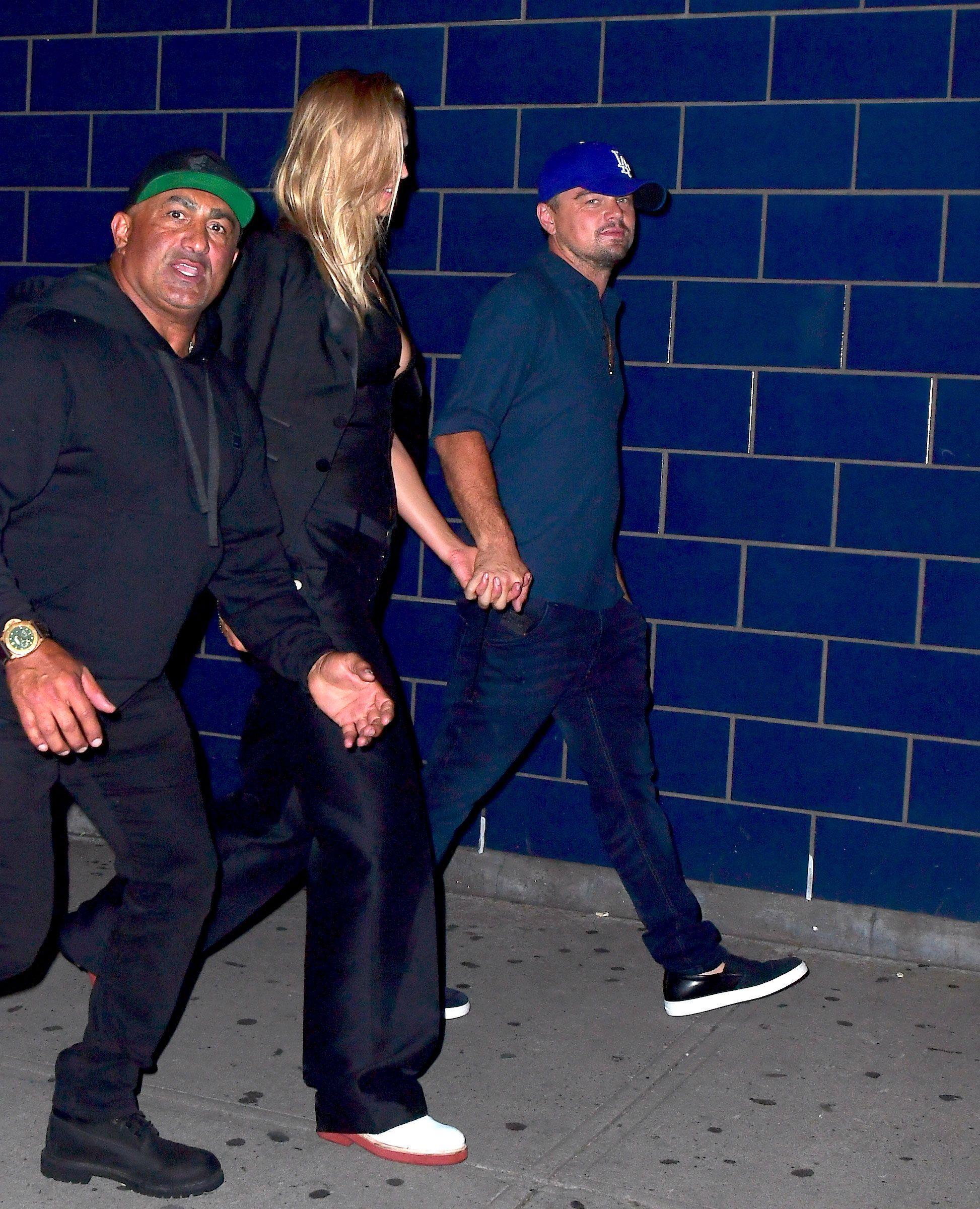 f385639ca7f Classic Bad Boy Leonardo DiCaprio Seen Leaving Nightclub With Model Ex