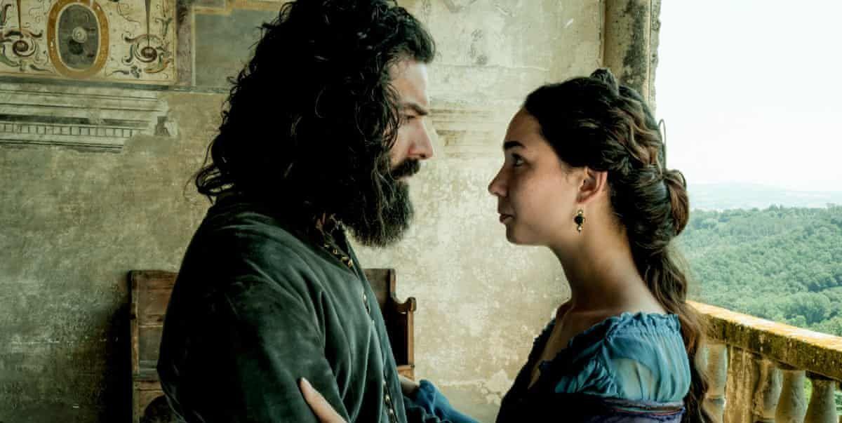 """Aidan Turner discusses Matilda De Angelis' """"muse"""" role in Leonardo"""