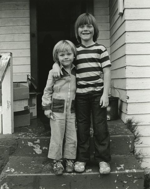 Leo DiCaprio And His Brother Adam