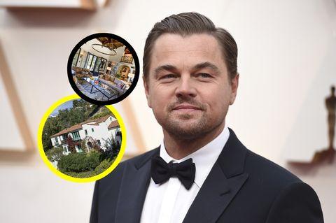 las fotos de la casa que leonardo dicaprio le ha comprado a su madre por casi 6 millones de euros