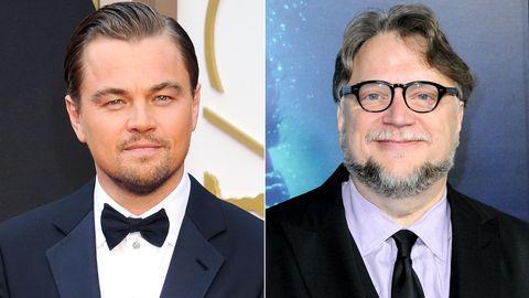 Leonardo Dicaprio y Guillermo del Toro