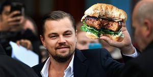 leonardo dicaprio hamburguesas