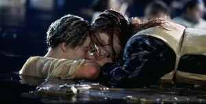Titanic - Leonardo DiCaprio en Kate Winslet