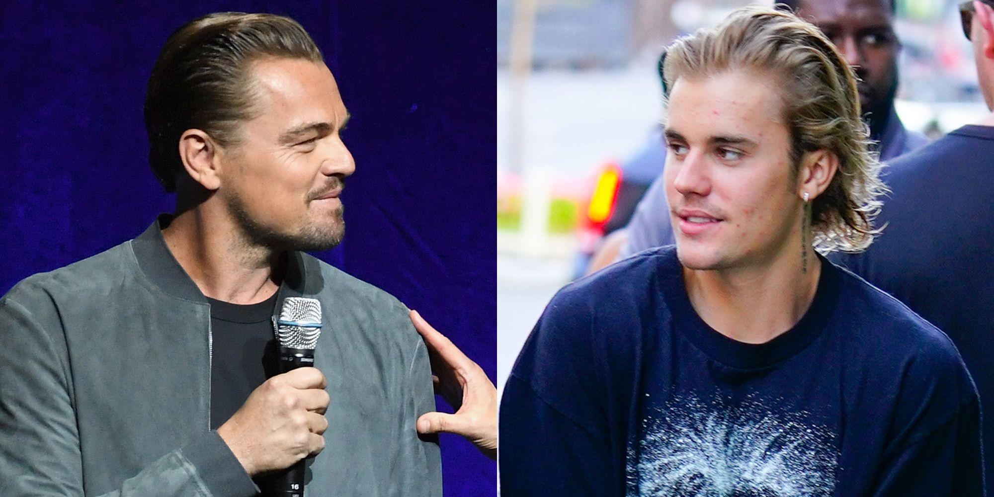 hawaiishirtLeonardo DiCaprioJustin Bieber