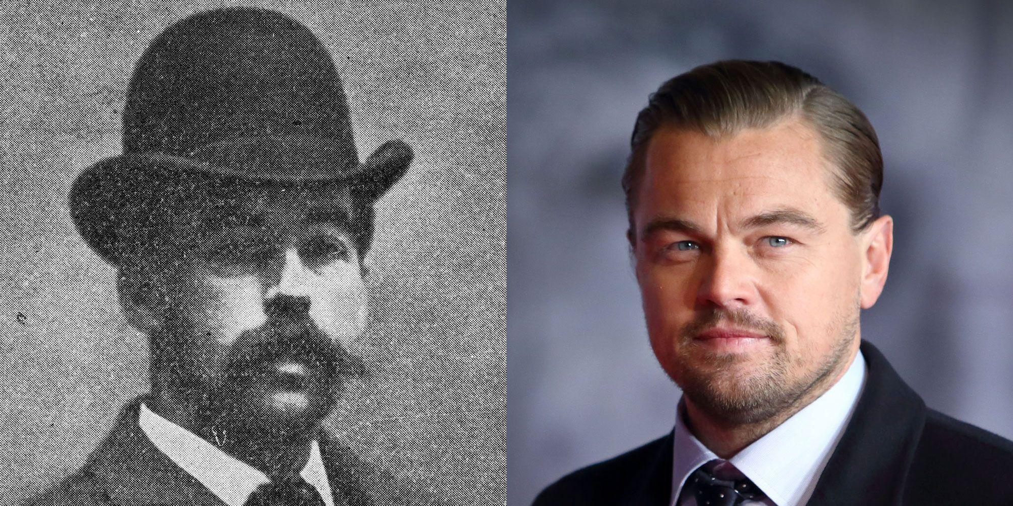 H.H. Holmes and Leonardo DiCaprio.
