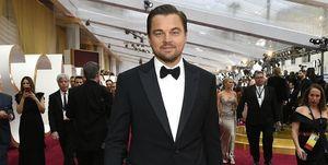 Leonardo DiCaprio op de rode loper bij de Oscars 2020