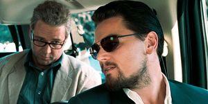 Leonardo DiCaprio Russell Crowe cabeza dinosaurio