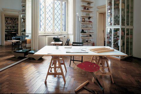 scrivania leonardo di achille castiglioni per zanotta