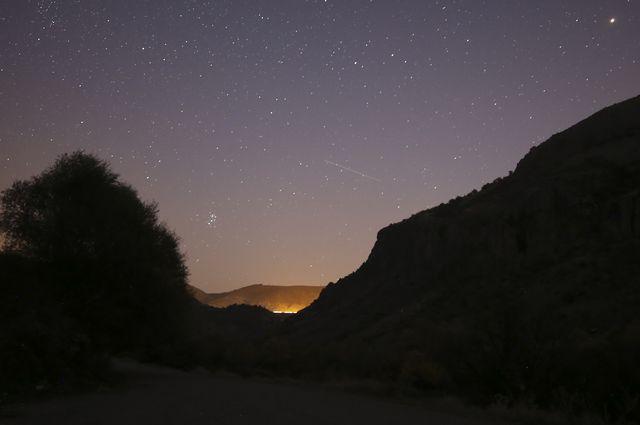 leonids meteor shower in ankara