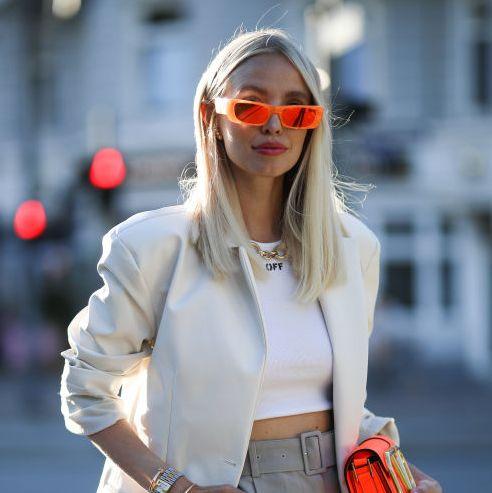 modetrend zonnebril rechthoekig