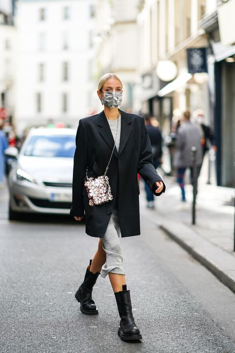 street style at paris fashion week   womenswear spring summer 2021  day seven