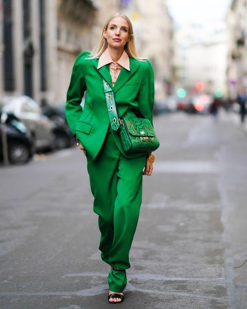 groen kleur trend kleding mode 2021