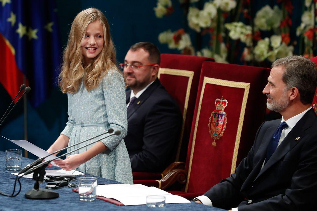 Leonor, así ha sido su debut en los Premios Princesa de Asturias