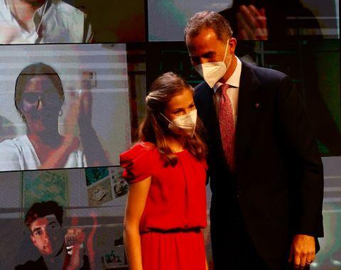 leonor en los premios fundación princesa de girona