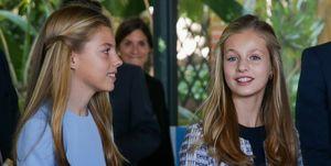 La princesa Leonor y la infanta Sofía en los PremiosFundación Princesa de Gironaen Barcelona