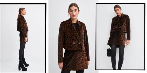 b4f4dcce No-One Will Guess This Luxe Leopard-Print And Velvet Skirt Suit Is ...