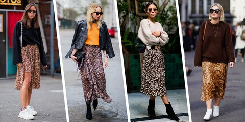 661b9639d0ae 11 Best Leopard-Print Skirts to Wear in 2019 - Leopard Print Skirt Trend