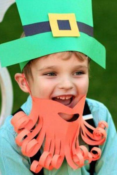 St. Patricks Day Crafts - Simple Leprechaun Dress