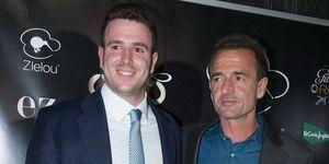 Alessandro Lequio con su hijo Álex Lequio