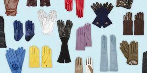Leren handschoenen voor winter 2019