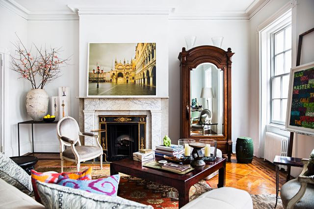 les ensembliers chelsea apartment was made to work from home