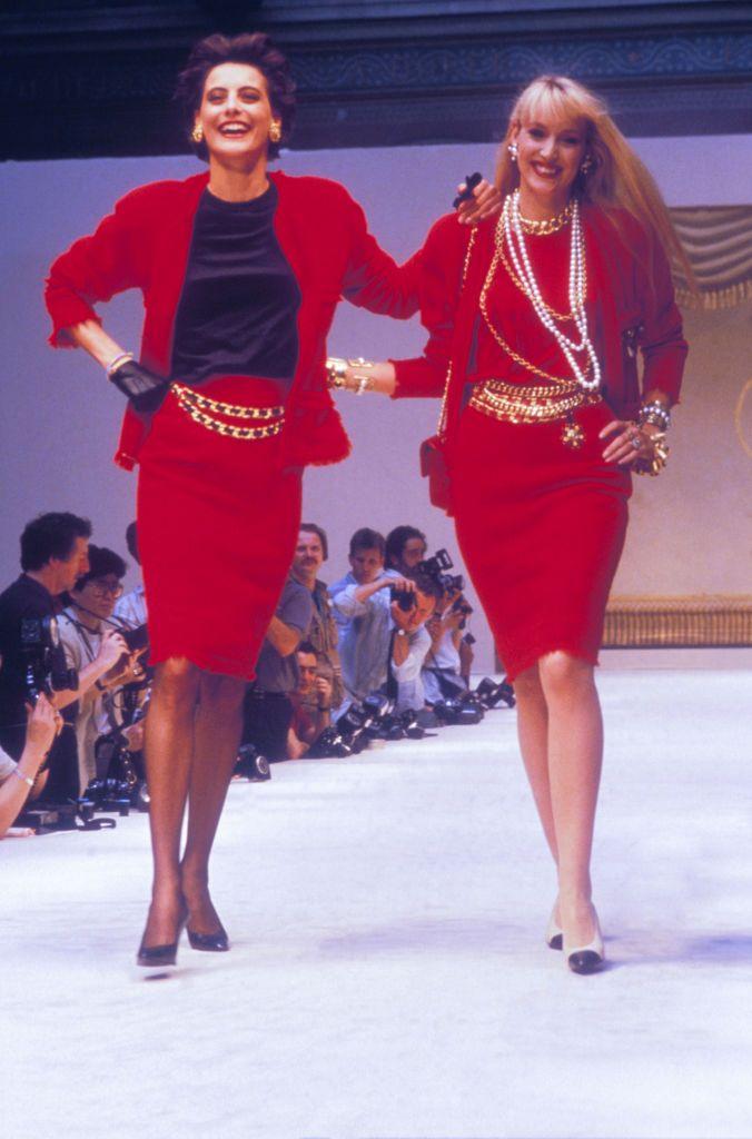 Défilé Chanel Haute Couture Hiver 1986-1987
