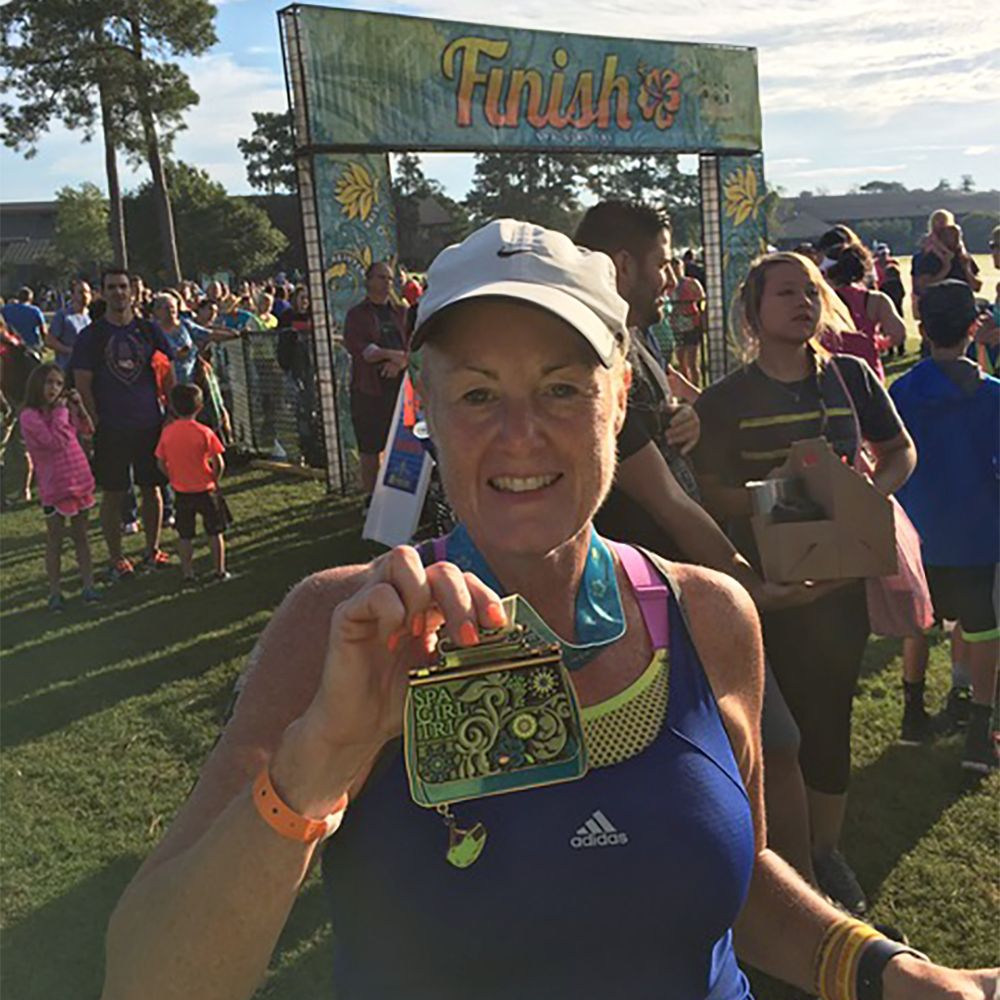 Her Son Asked Her to Run a 5K, and She Ran Off 88 Pounds