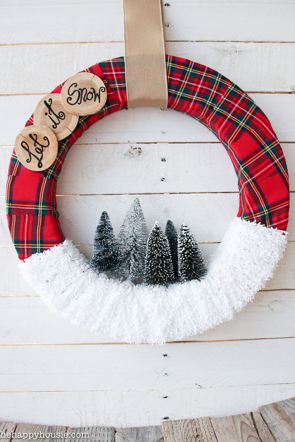 72 Diy Christmas Wreaths How To Make A Holiday Wreath Craft