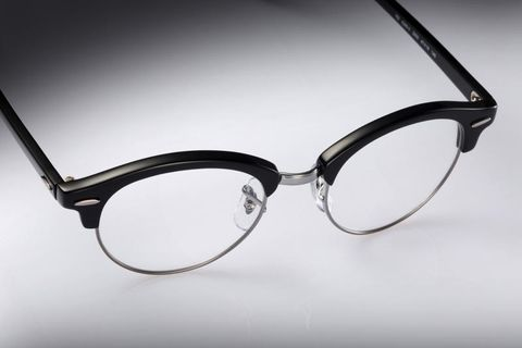 Eyewear, Glasses, Vision care, Product, Brown, Glass, Photograph, White, Line, Style,