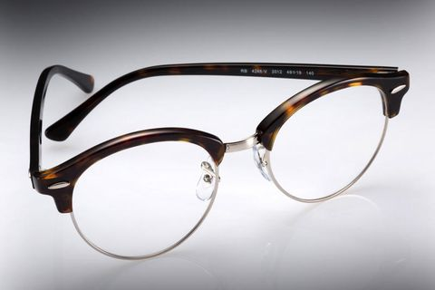 Eyewear, Glasses, Vision care, Product, Brown, Glass, Photograph, White, Line, Amber,