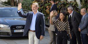Los reyes Letizia y Felipe en Gran Canaria