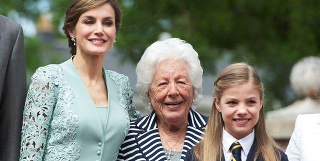menchu alvarez, la nonna della regina letizia, è morta