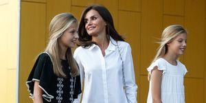 Princesa Leonor, Princesa Sofía, Reina Letizia, Letizia Antígona, Antigona, Reina de España, Letizia y Leonor, Víctor Ullate