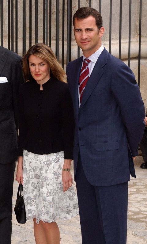 Letizia Ortiz Joins Spanish Royals for Easter Mass in Mallorca