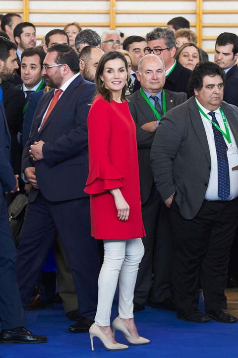 letizia ortiz look 2018