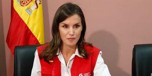 Reina Letizia, viaje de cooperación a Mozambique.