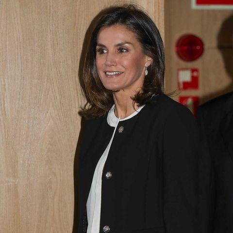 La reinaLetizia en la celebración del X aniversario de los premios 'Integra' de BBVA