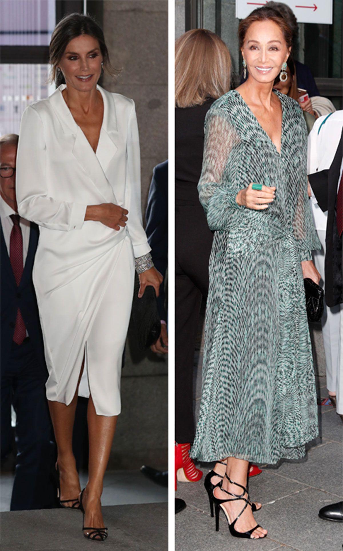 Letizia e Isabel Preysler, dos reinas de la elegancia en el Teatro Real