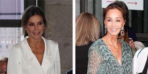 La reina Letizia e Isabel Preysler compiten en elegancia en el Teatro Real
