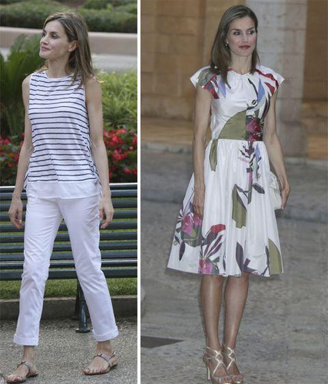 los looks de la reina letizia en mallorca en 2016