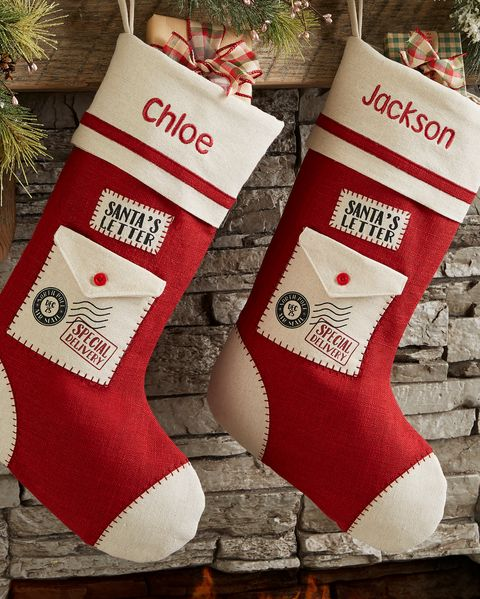 santa letter stockings