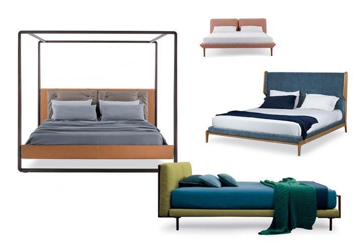 Arredo camera: letti di design confortevoli e avvolgenti