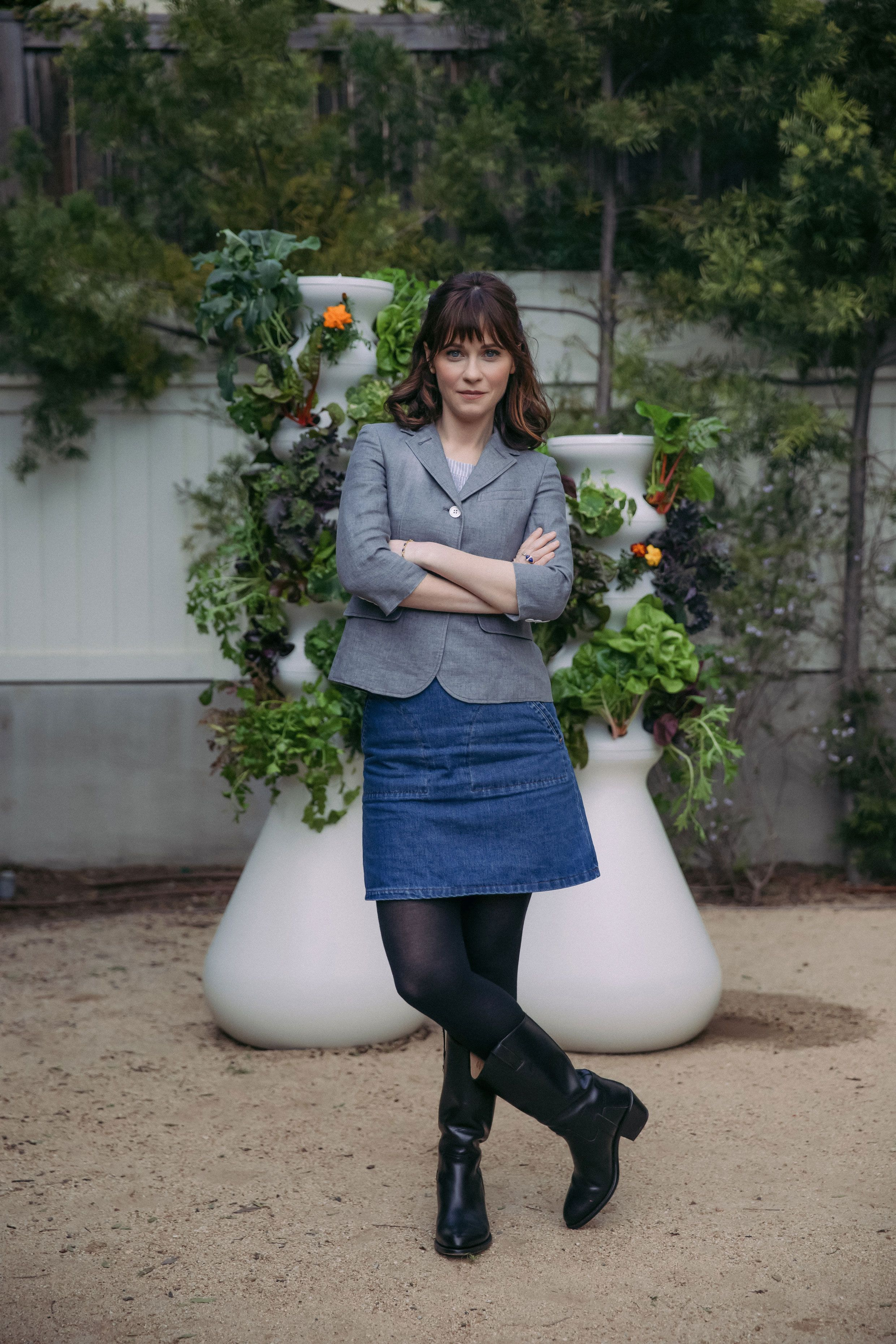 Why Zooey Deschanel and Jacob Pechenik Are Selling Portable Gardens