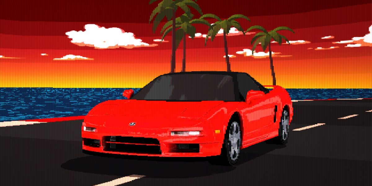Race an NSX and RDX for Free with Acura's Retro Arcade Game