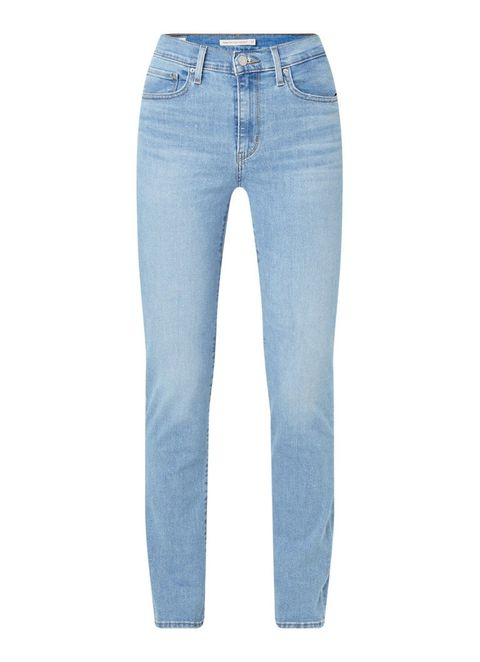 Levi's 724 high waist slim fit jeans met stretch