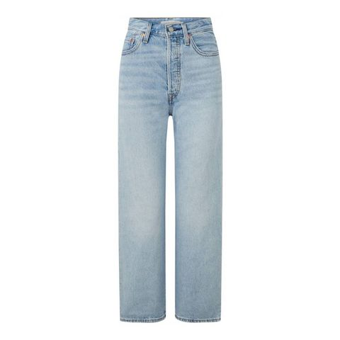 levi's high waist straight fit jeans