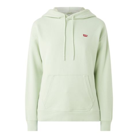 levi's hoodie met logopatch